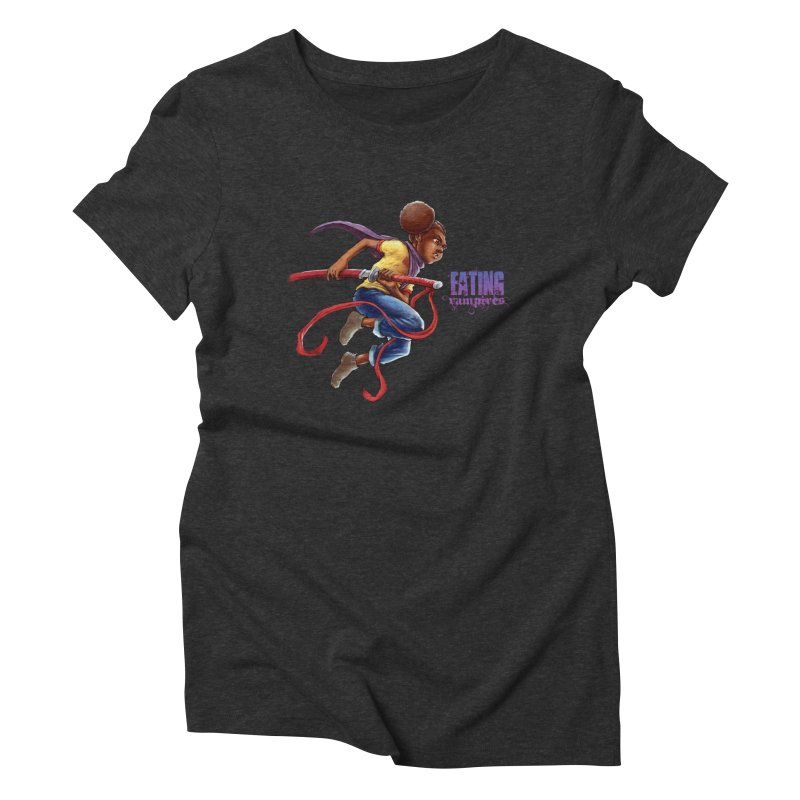 Spring to Action Women's Triblend T-Shirt by Lockett Down's Artist Shop