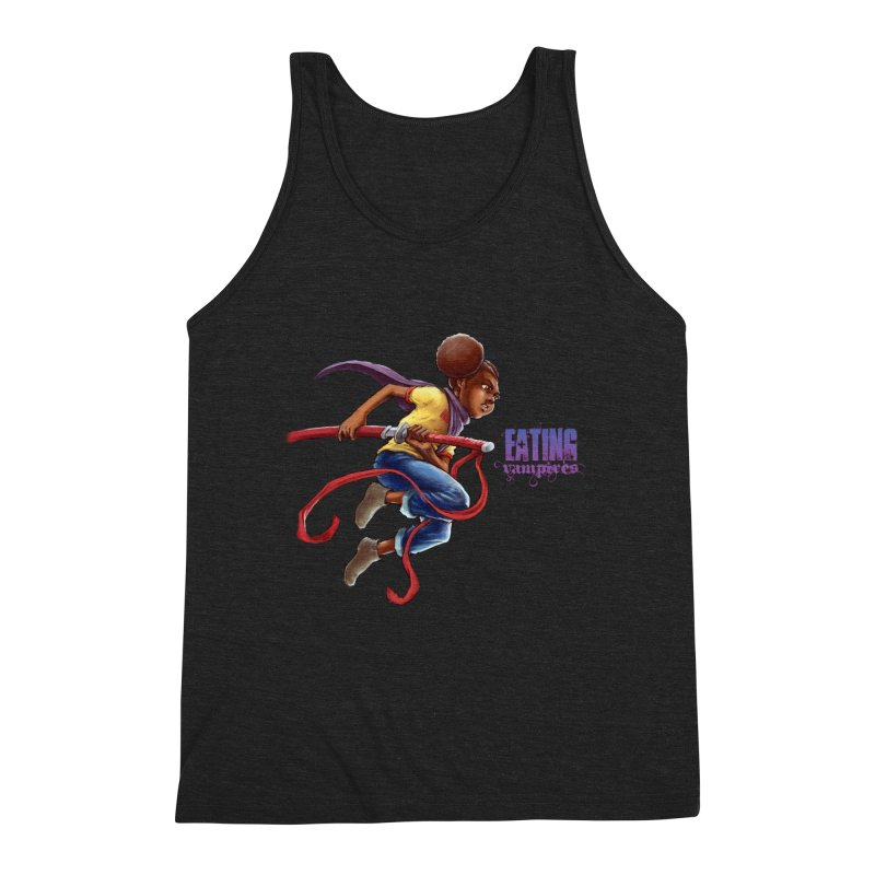Spring to Action Men's Triblend Tank by Lockett Down's Artist Shop