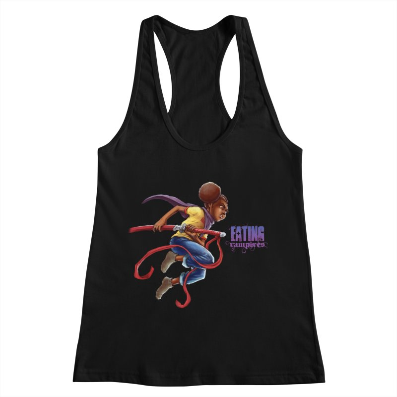 Spring to Action Women's Racerback Tank by Lockett Down's Artist Shop