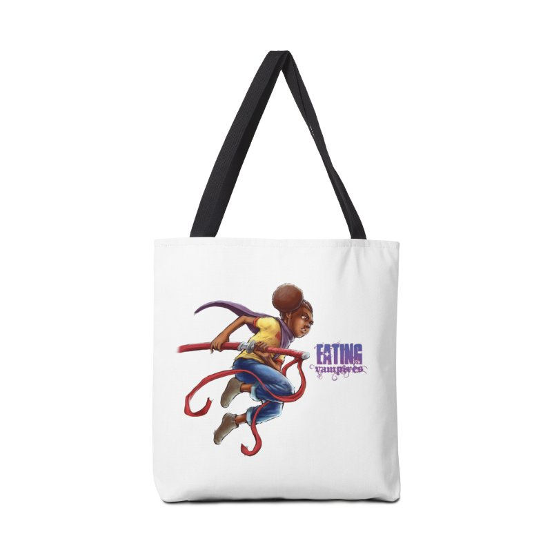 Spring to Action Accessories Bag by Lockett Down's Artist Shop
