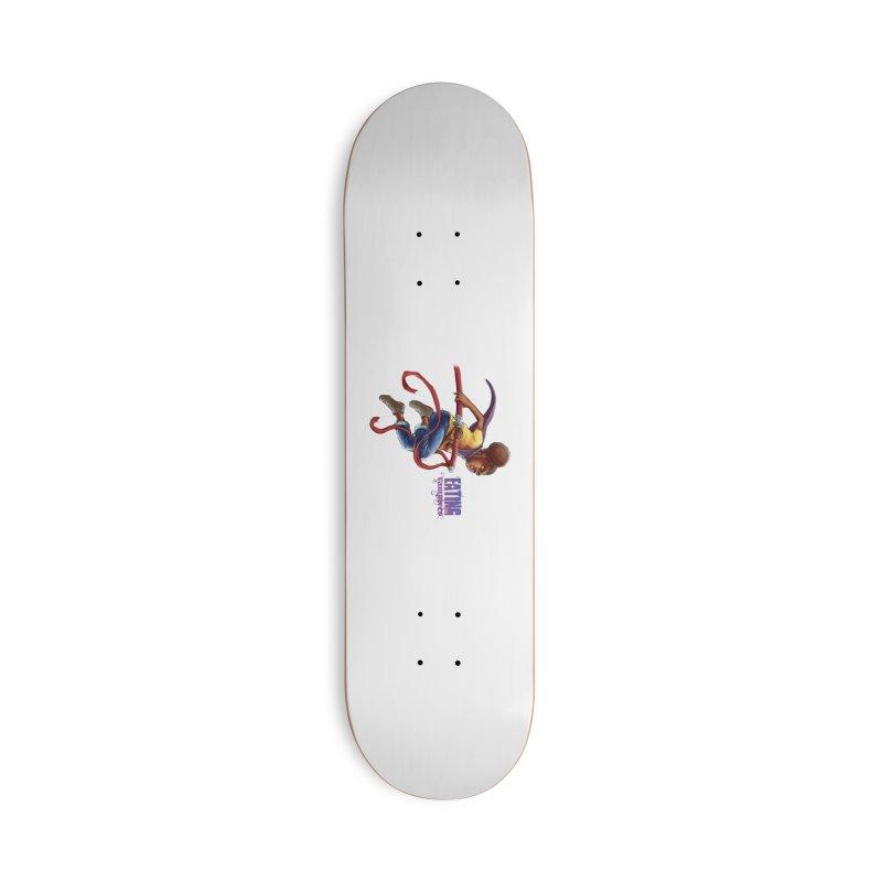 Spring to Action Accessories Skateboard by Lockett Down's Artist Shop