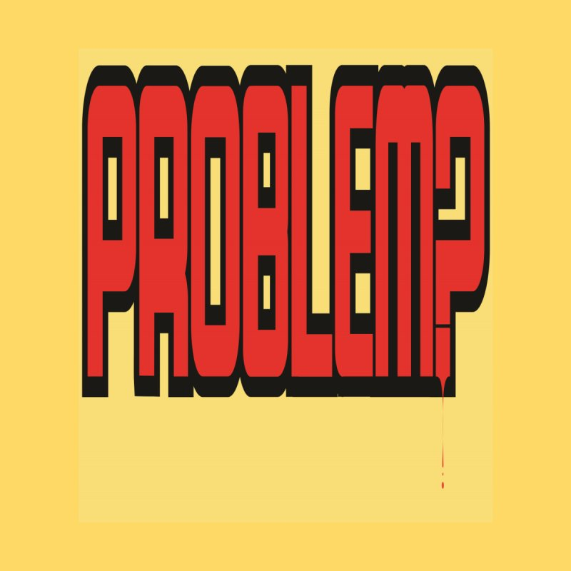 EV Problem? Men's T-Shirt by Lockett Down's Artist Shop