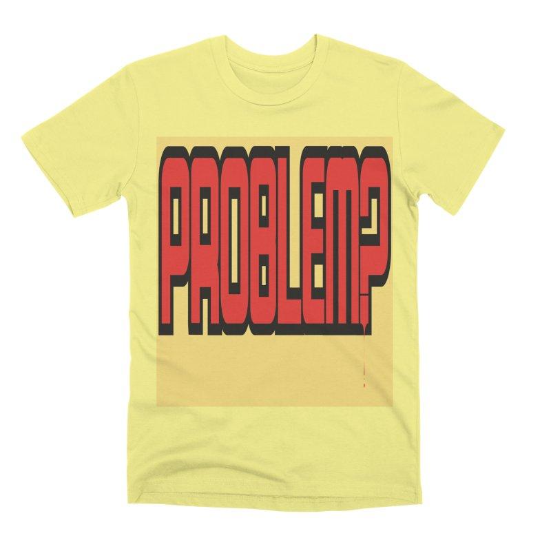 EV Problem? Men's Premium T-Shirt by Lockett Down's Artist Shop