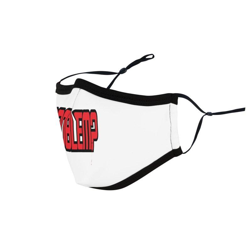 EV Problem? 2 Accessories Face Mask by Lockett Down's Artist Shop