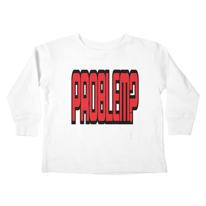 EV Problem? 2 Kids Toddler Longsleeve T-Shirt by Lockett Down's Artist Shop