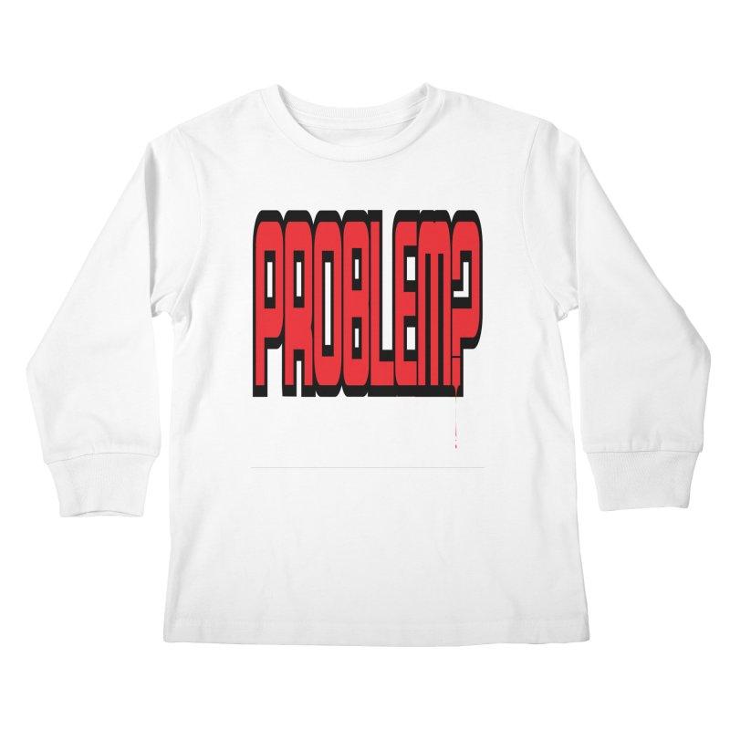 EV Problem? 2 Kids Longsleeve T-Shirt by Lockett Down's Artist Shop