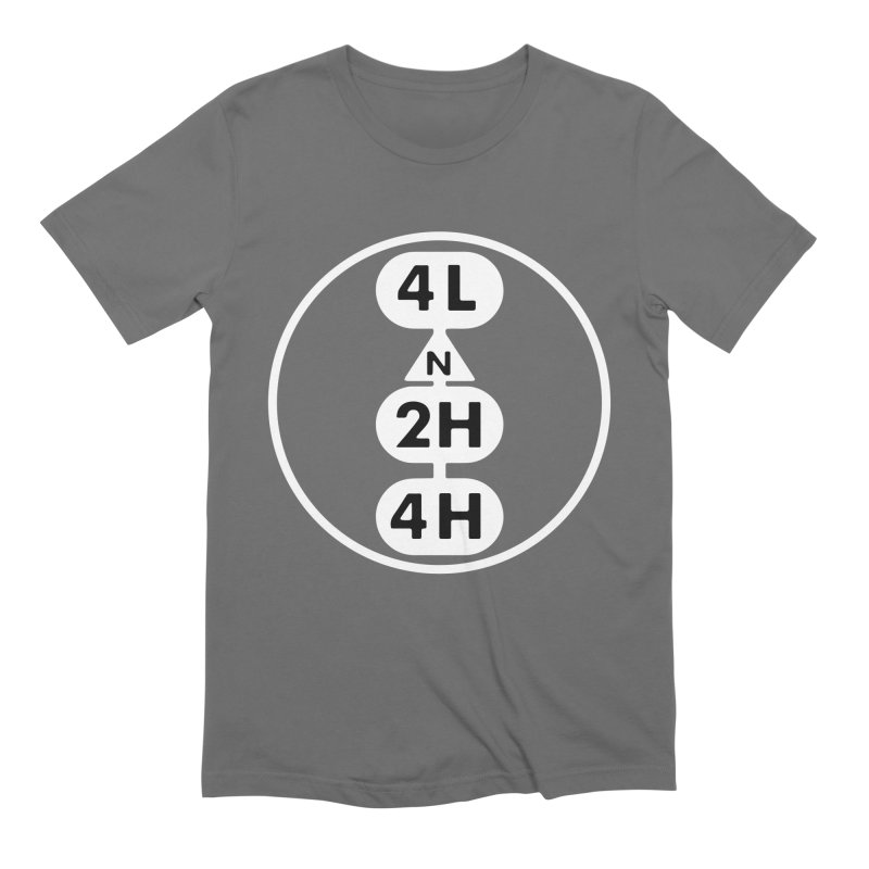 Transfer Case Knockout Men's T-Shirt by lockinghub's Artist Shop