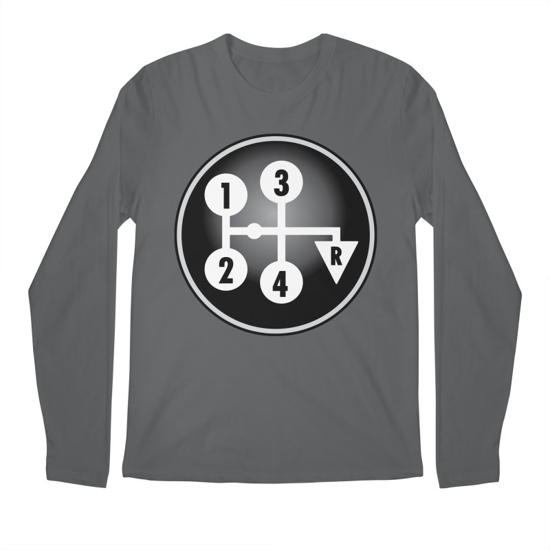 Manual Shift Grade Men's Longsleeve T-Shirt by lockinghub's Artist Shop
