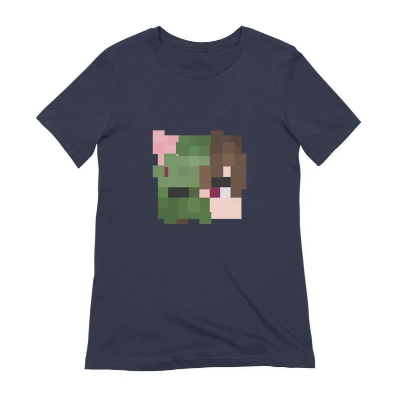 Logo Line Women's Extra Soft T-Shirt by Lockyz Group