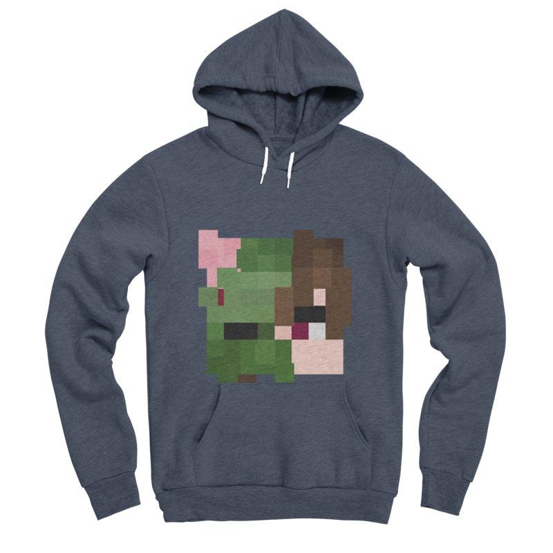 Logo Line Men's Sponge Fleece Pullover Hoody by Lockyz Group