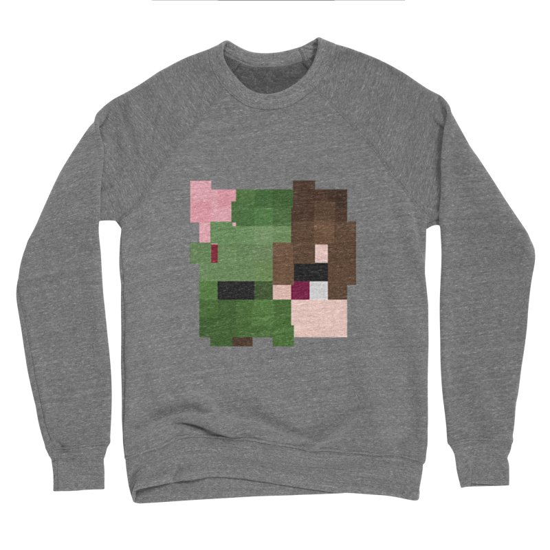 Logo Line Men's Sponge Fleece Sweatshirt by Lockyz Group