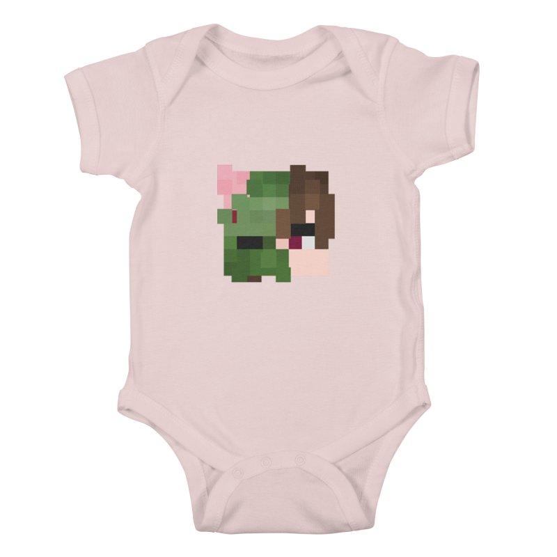 Logo Line Kids Baby Bodysuit by Lockyz Group