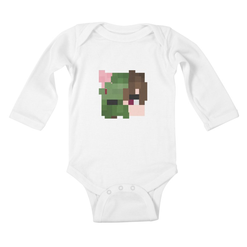 Logo Line Kids Baby Longsleeve Bodysuit by Lockyz Group