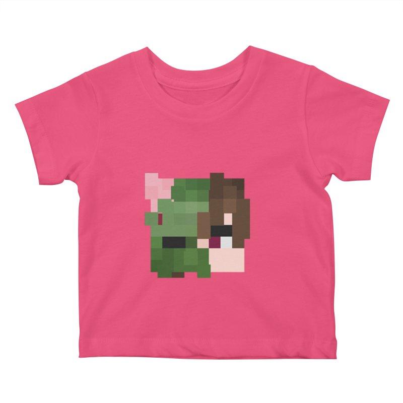Logo Line Kids Baby T-Shirt by Lockyz Group