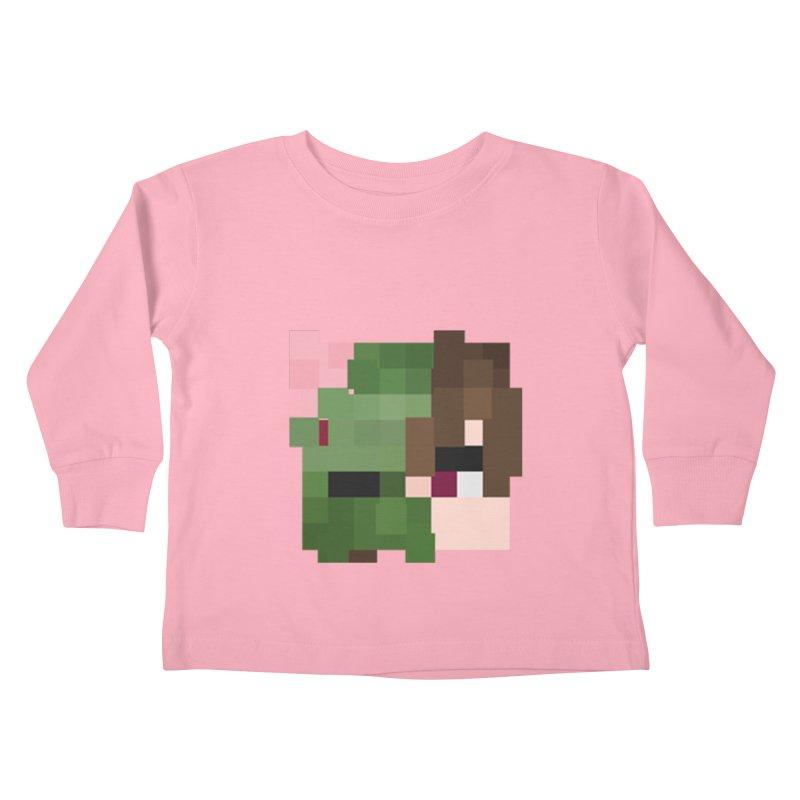 Logo Line Kids Toddler Longsleeve T-Shirt by Lockyz Group
