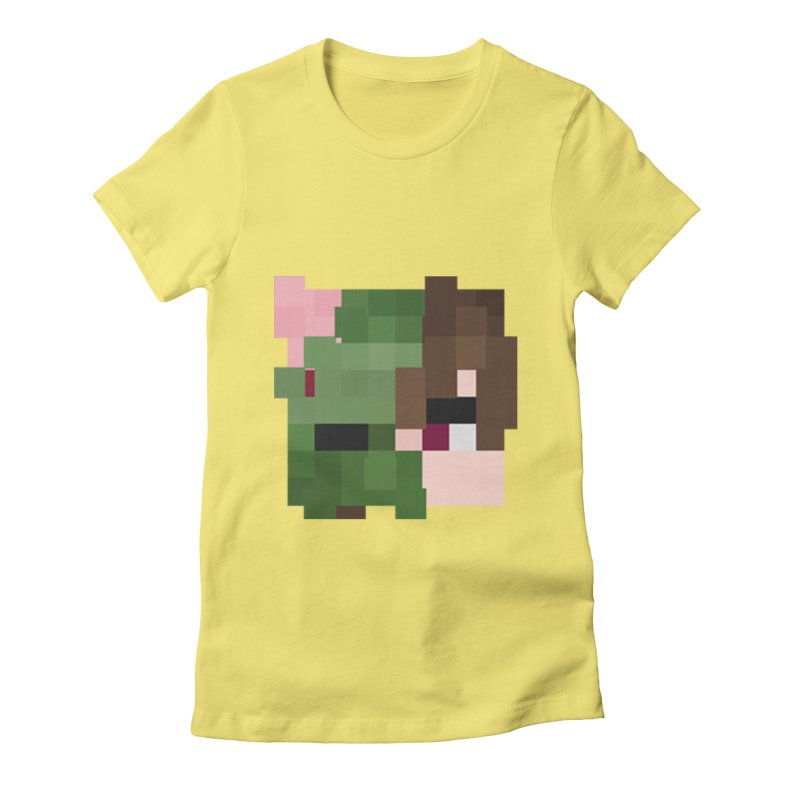 Logo Line Women's Fitted T-Shirt by Lockyz Group