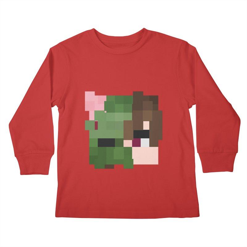 Logo Line Kids Longsleeve T-Shirt by Lockyz Group