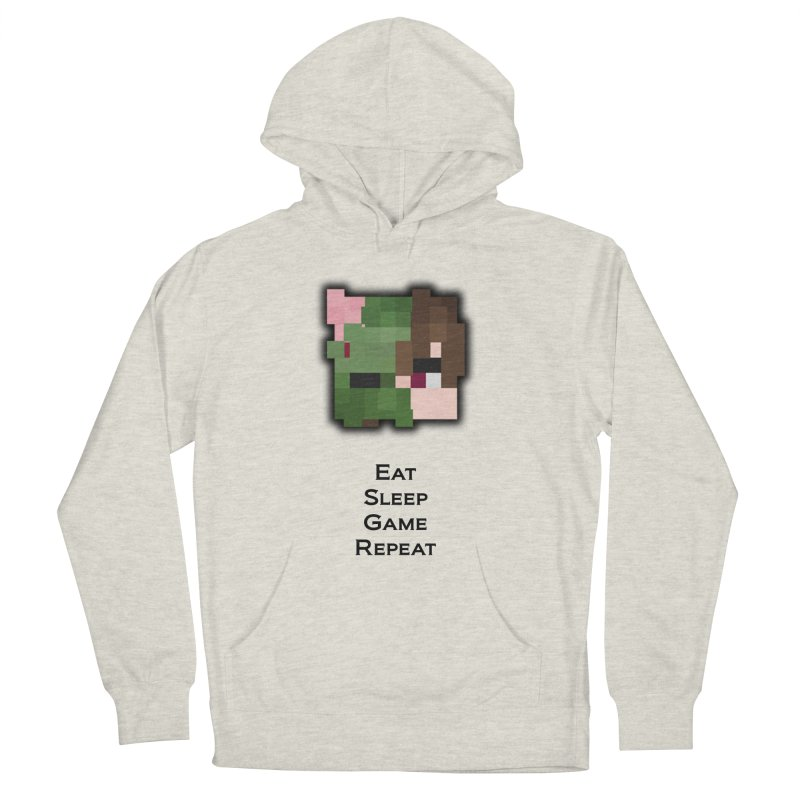 Eat Sleep Game Repeat Line Men's Pullover Hoody by Lockyz Group