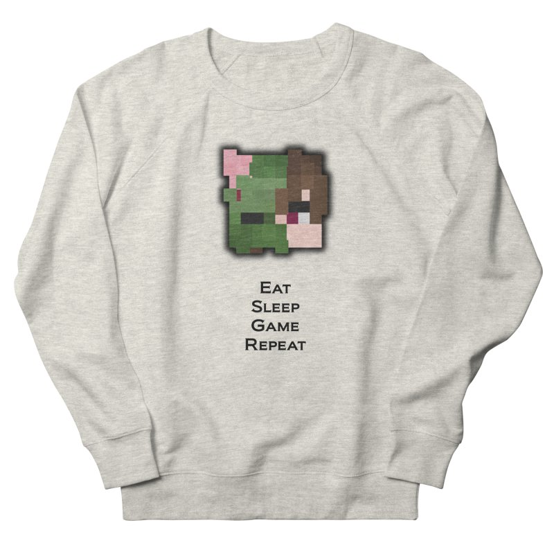 Eat Sleep Game Repeat Line Men's Sweatshirt by Lockyz Group