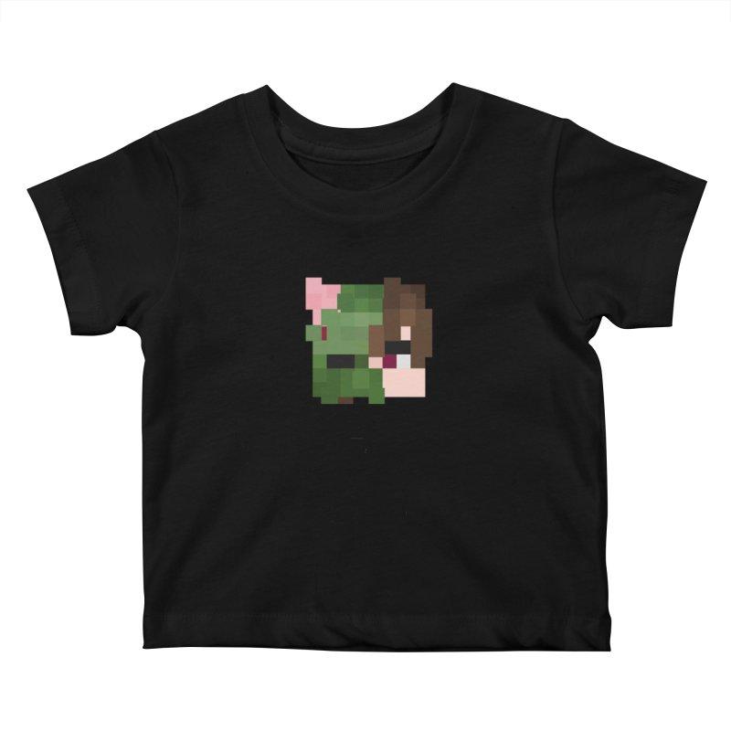Eat Sleep Game Repeat Line Kids Baby T-Shirt by Lockyz Group