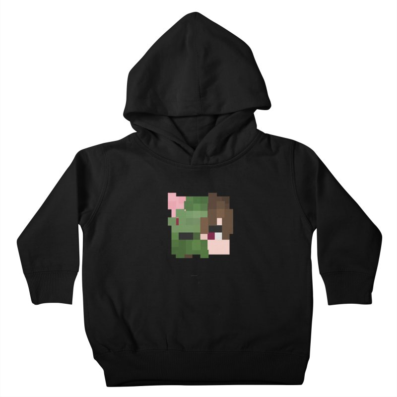 Eat Sleep Game Repeat Line Kids Toddler Pullover Hoody by Lockyz Group