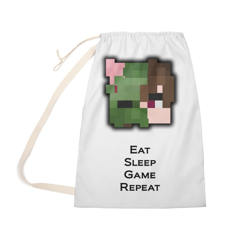 Eat Sleep Game Repeat Line Accessories Bag by Lockyz Group