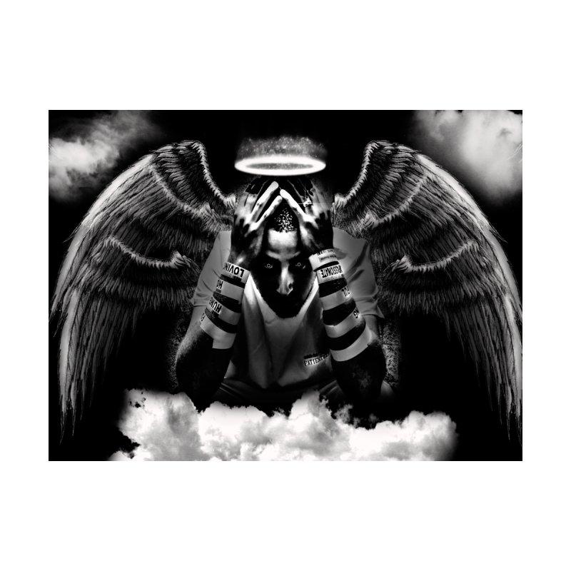 "Loc Saint ""Original Angel"" Home Blanket by Official Loc Saint Music Merch"