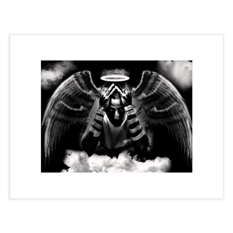 "Loc Saint ""Original Angel"" Home Fine Art Print by Official Loc Saint Music Merch"