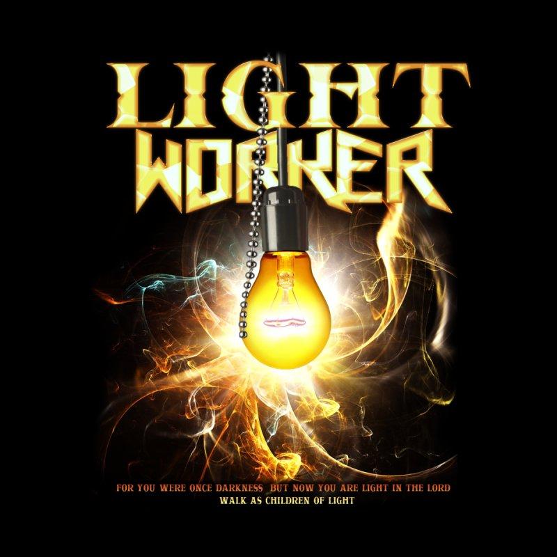 "Light Worker ""Activated"" Men's T-Shirt by Official Loc Saint Music Merch"