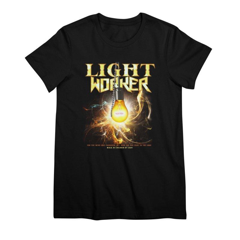"Light Worker ""Activated"" Women's Premium T-Shirt by Official Loc Saint Music Merch"