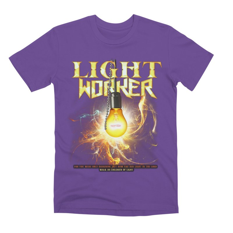 "Light Worker ""Activated"" Men's Premium T-Shirt by Official Loc Saint Music Merch"