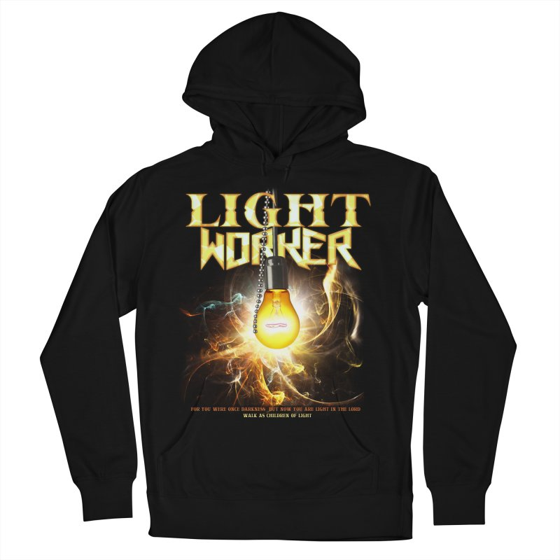 """Light Worker """"Activated"""" Women's French Terry Pullover Hoody by Official Loc Saint Music Merch"""