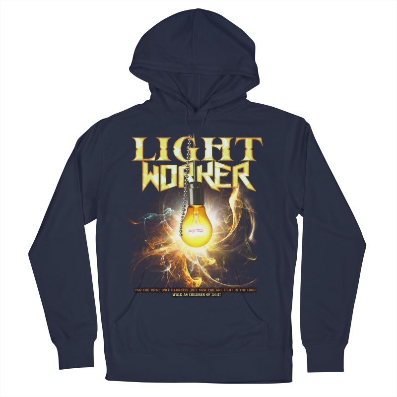 "Light Worker ""Activated"" Men's French Terry Pullover Hoody by Official Loc Saint Music Merch"