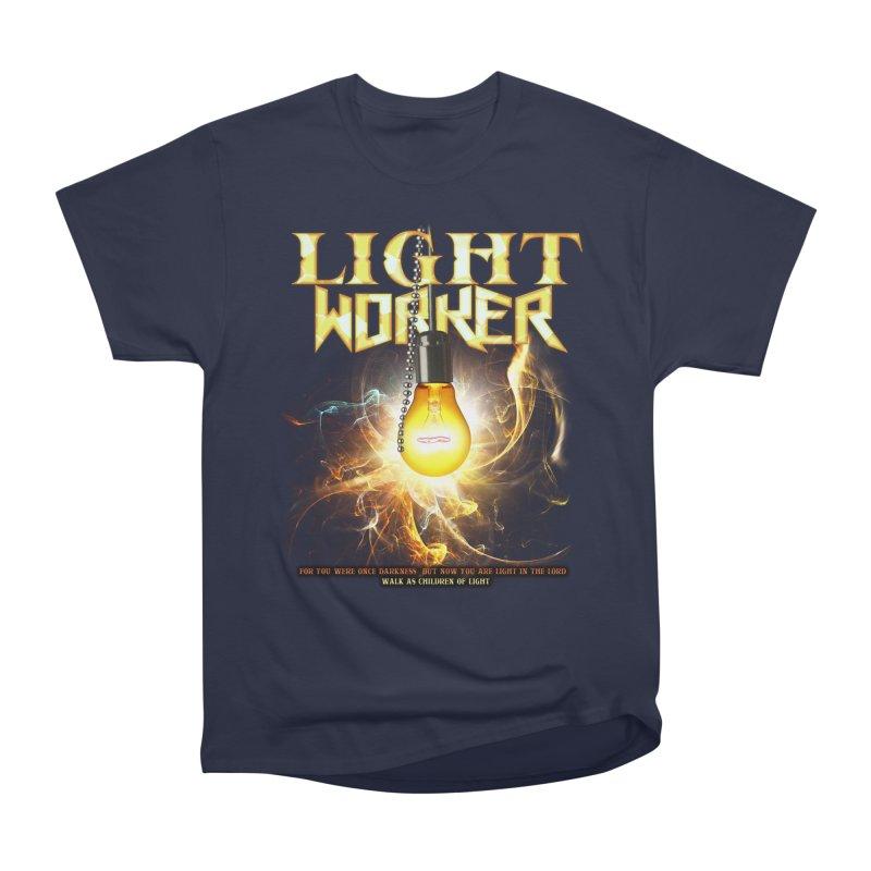 """Light Worker """"Activated"""" Women's Heavyweight Unisex T-Shirt by Official Loc Saint Music Merch"""
