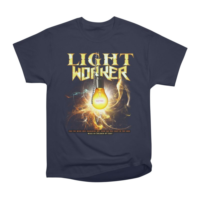 "Light Worker ""Activated"" Men's Heavyweight T-Shirt by Official Loc Saint Music Merch"