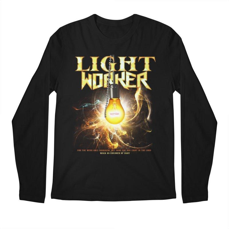 """Light Worker """"Activated"""" Men's Regular Longsleeve T-Shirt by Official Loc Saint Music Merch"""