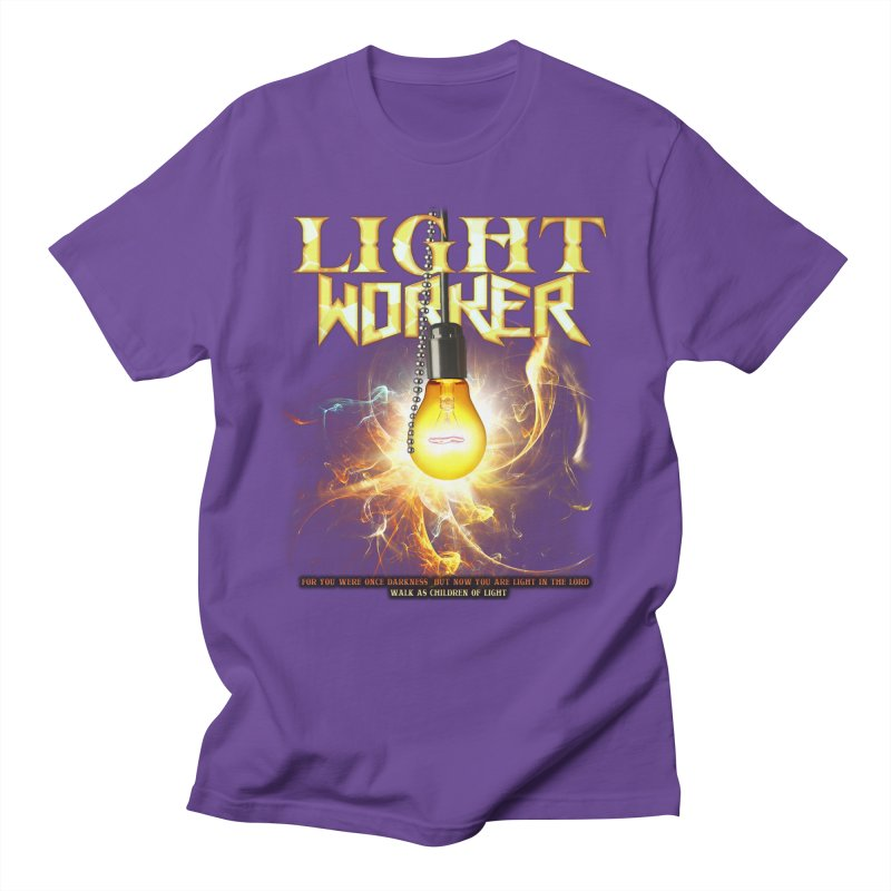 "Light Worker ""Activated"" Men's Regular T-Shirt by Official Loc Saint Music Merch"