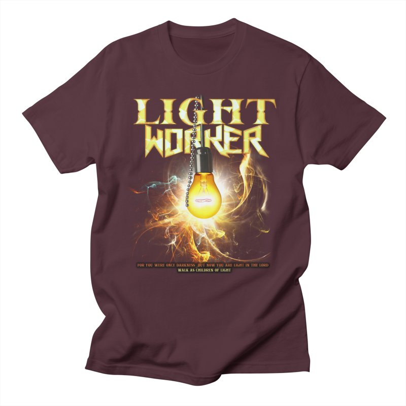 "Light Worker ""Activated"" Women's Regular Unisex T-Shirt by Official Loc Saint Music Merch"