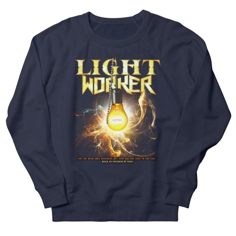 """Light Worker """"Activated"""" Women's French Terry Sweatshirt by Official Loc Saint Music Merch"""