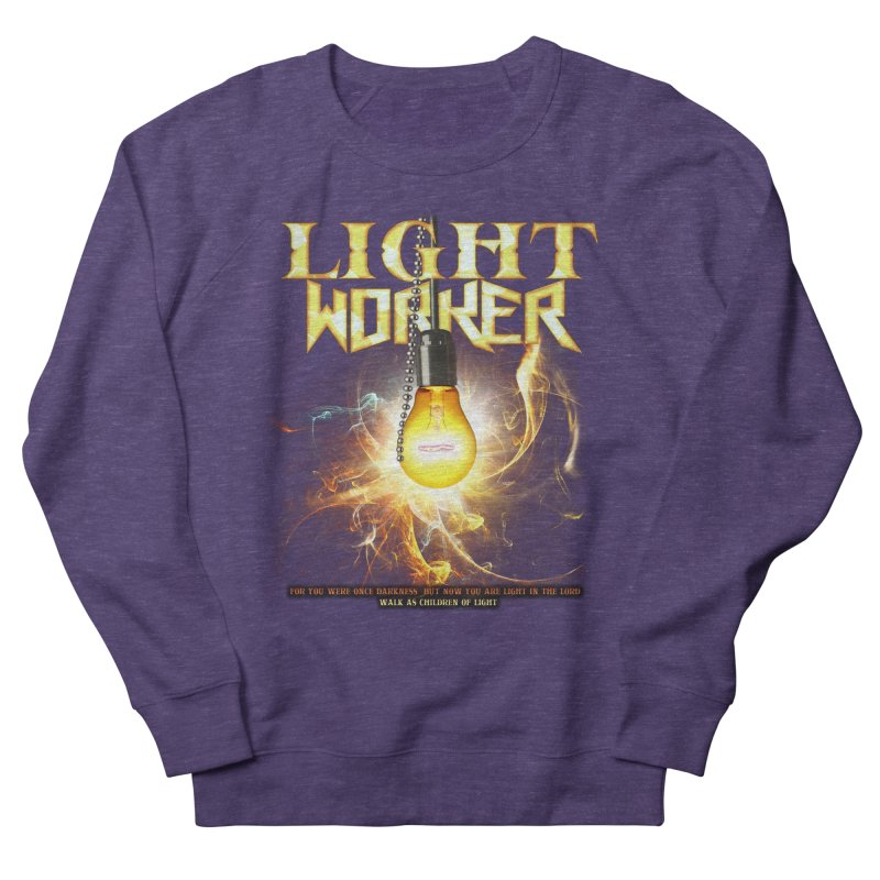 "Light Worker ""Activated"" Men's French Terry Sweatshirt by Official Loc Saint Music Merch"