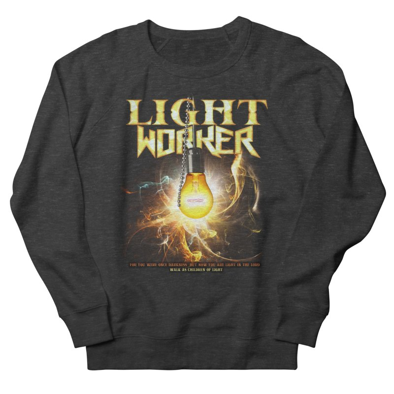 """Light Worker """"Activated"""" Men's French Terry Sweatshirt by Official Loc Saint Music Merch"""