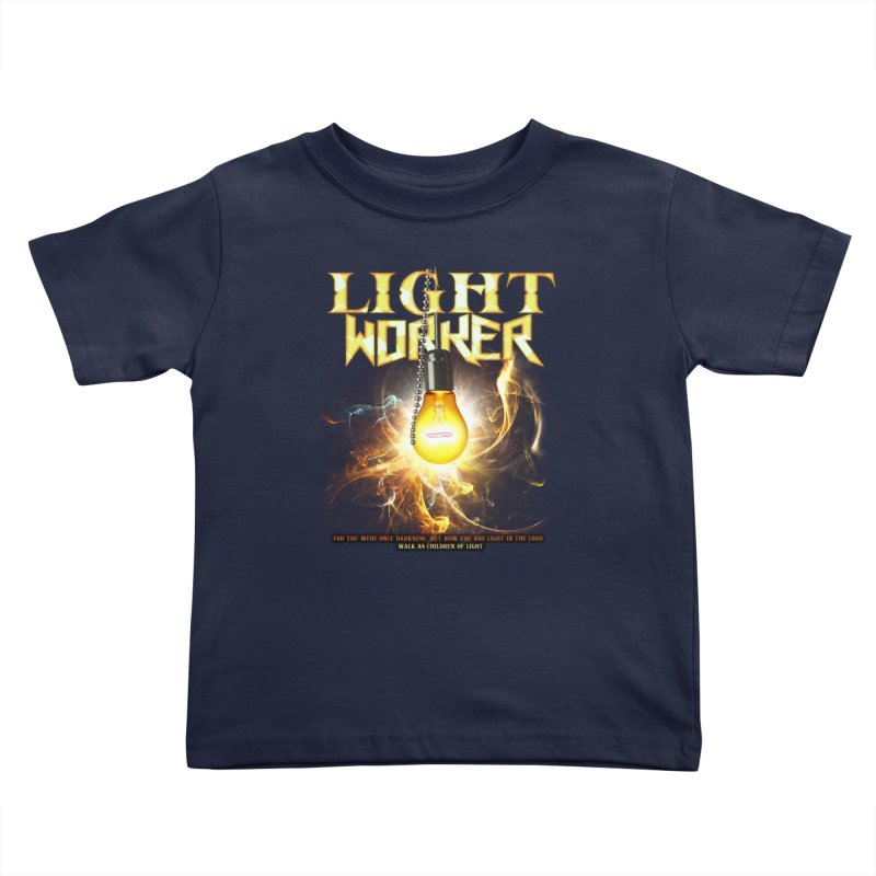 "Light Worker ""Activated"" Kids Toddler T-Shirt by Official Loc Saint Music Merch"