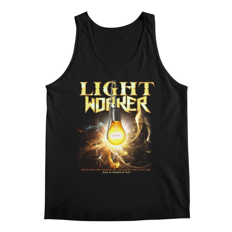 "Light Worker ""Activated"" Men's Regular Tank by Official Loc Saint Music Merch"