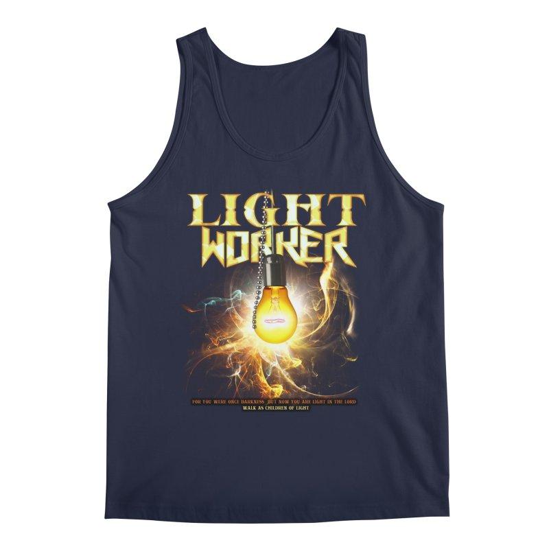 """Light Worker """"Activated"""" Men's Regular Tank by Official Loc Saint Music Merch"""