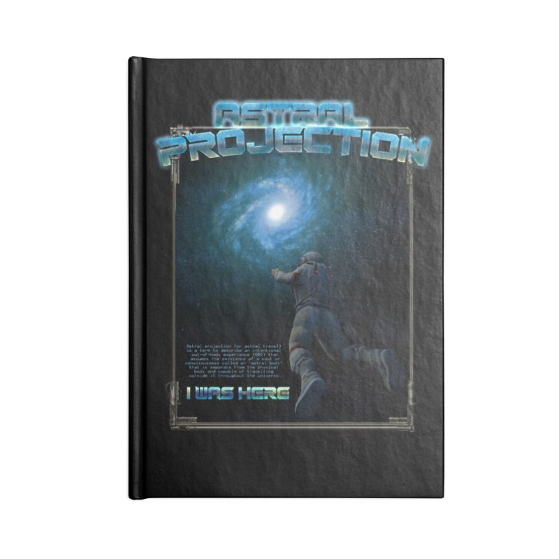 "The Spirit Armory ""Astral Projection"" Accessories Lined Journal Notebook by Official Loc Saint Music Merch"