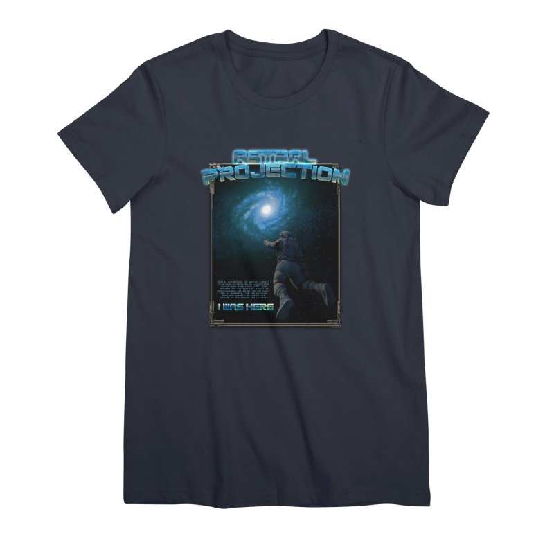 """The Spirit Armory """"Astral Projection"""" Women's Premium T-Shirt by Official Loc Saint Music Merch"""