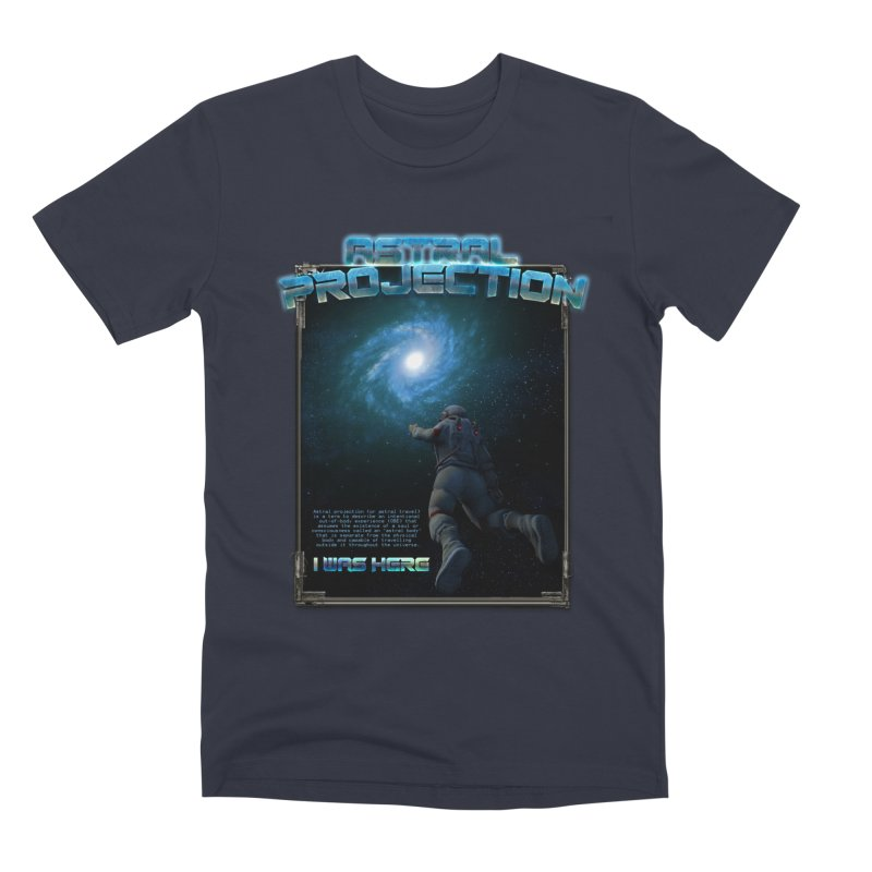"""The Spirit Armory """"Astral Projection"""" Men's Premium T-Shirt by Official Loc Saint Music Merch"""