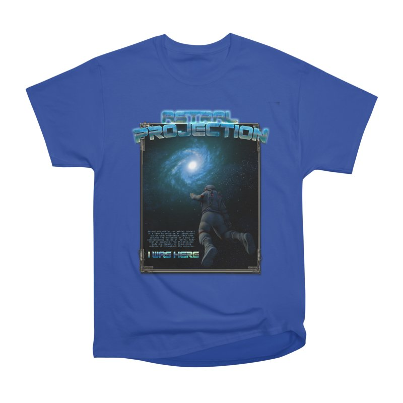 """The Spirit Armory """"Astral Projection"""" Women's Heavyweight Unisex T-Shirt by Official Loc Saint Music Merch"""