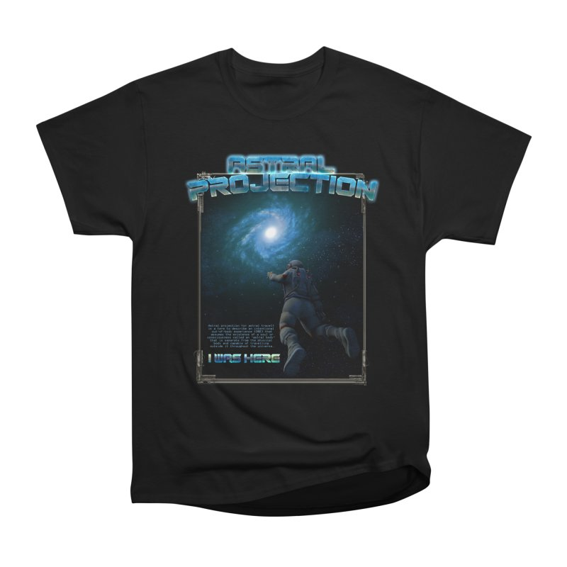 "The Spirit Armory ""Astral Projection"" in Men's Heavyweight T-Shirt Black by Official Loc Saint Music Merch"
