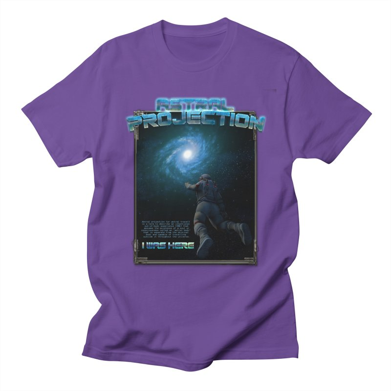 "The Spirit Armory ""Astral Projection"" Men's Regular T-Shirt by Official Loc Saint Music Merch"